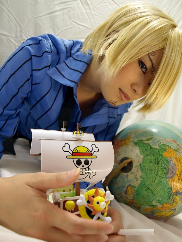 Cosplay - One Piece - Sanji
