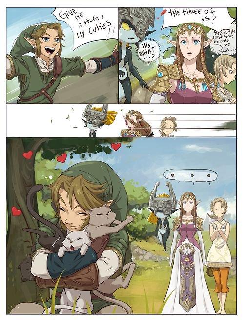 02 ◘ Zelda | Bande déssinée du mois