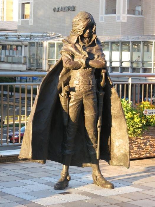 05 ◘ Captain Harlock / Albator | Statue en Bronze