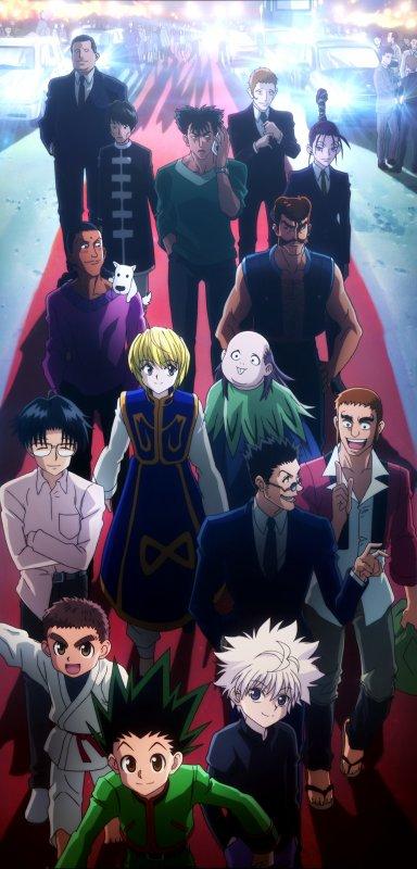 09 ◘ Hunter × Hunter | Tapis rouge pour les Hunters