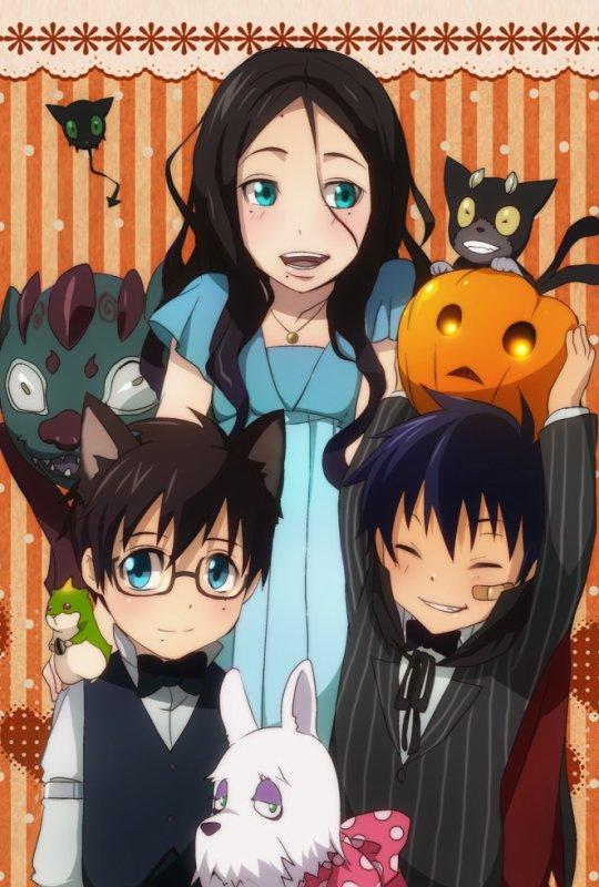 Blue Exorcist   La Famille