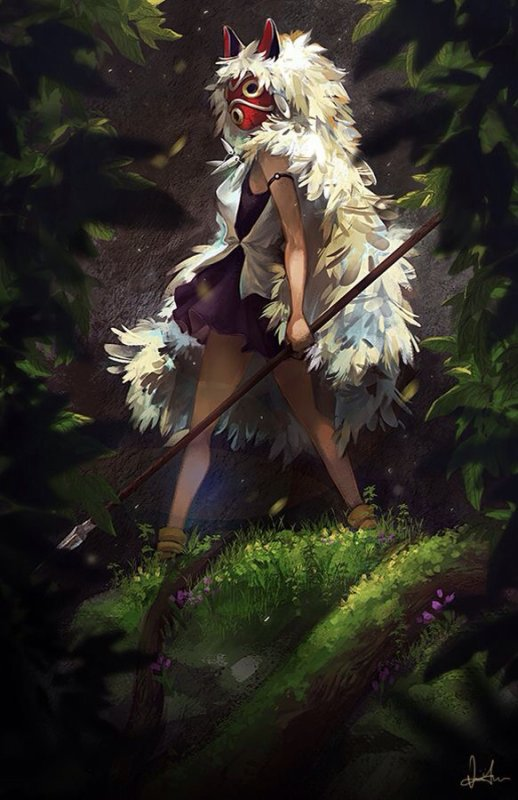 Art-Manga | Princesse Mononoké (San)