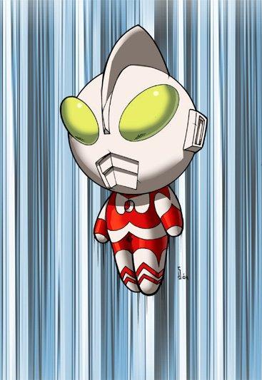 Chibi Ultraman Color, © Shalomone