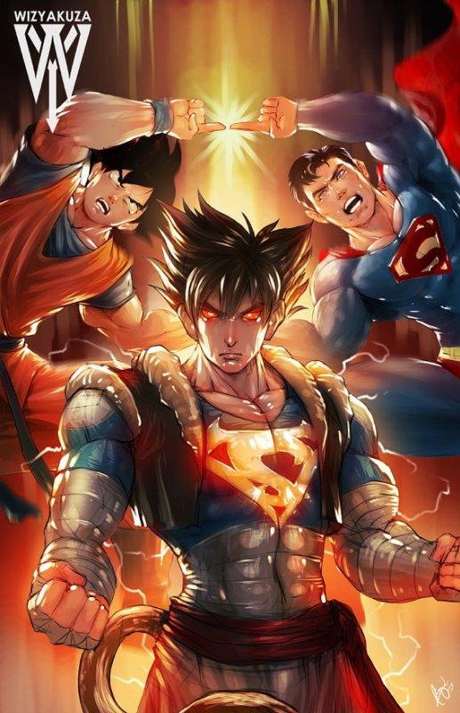 Crossover   Fusion — Goku - Superman