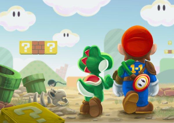 Mario par Jim Algar