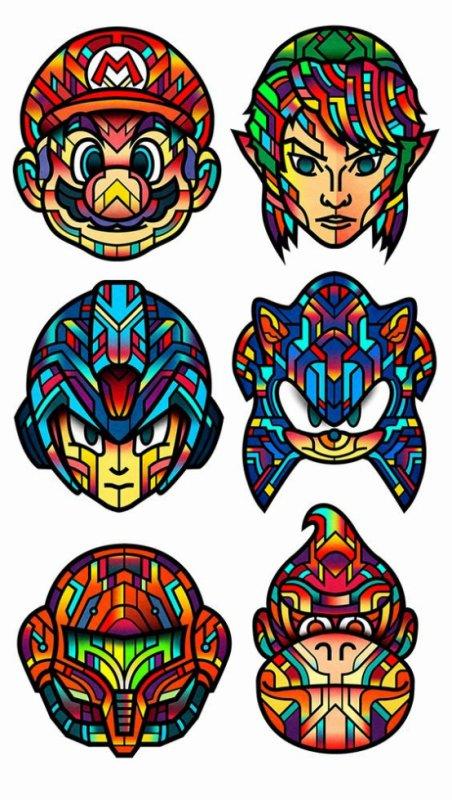 Von Orton Design | Super Smash Bros