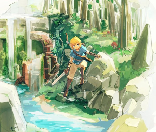 Breath of the Wild | Link | Sheikah