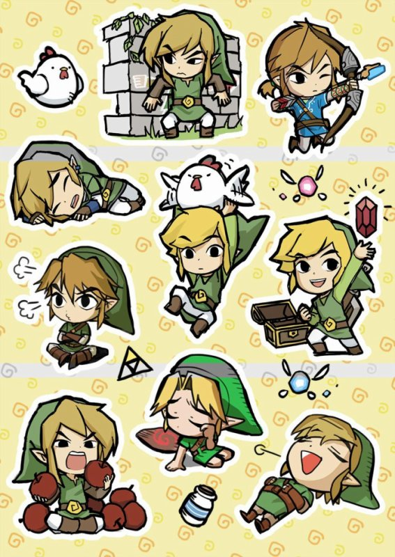 △ LINK △ The Wind Waker