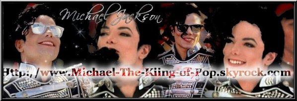 Le Roi de la PopMichael-The-Kiing-of-Pop ®