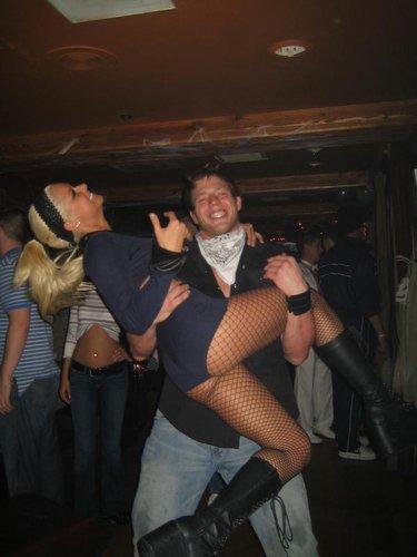 Jack Swagger & Maryse.