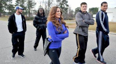 CM Punk, Kofi Kingston, Eve Torres, Cody Rhodes & Alberto Del Rio.