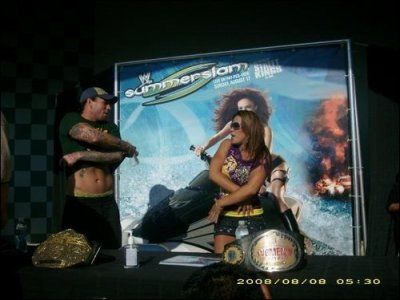 CM Punk & Mickie James