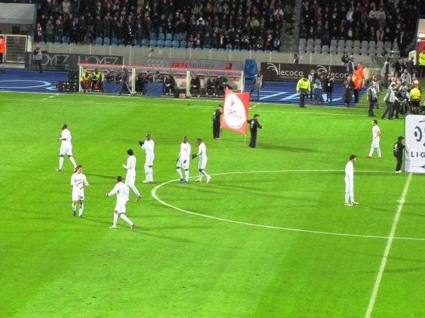 Déplacement à Lille 1-3...