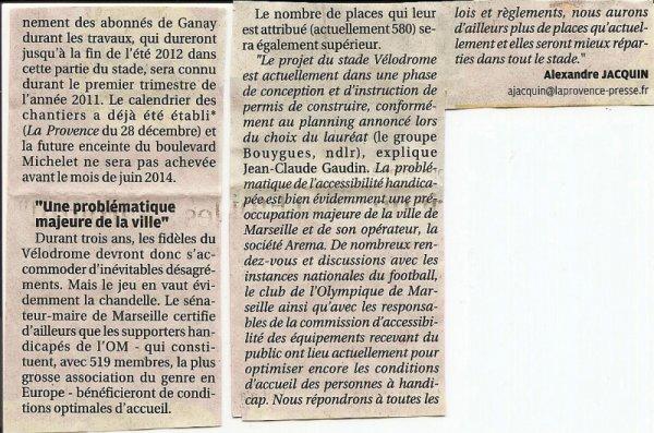 Réponse (suite) du Sénateur Maire de Marseille