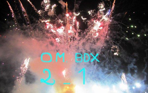 O.M - BDX : 2 - 1 ...