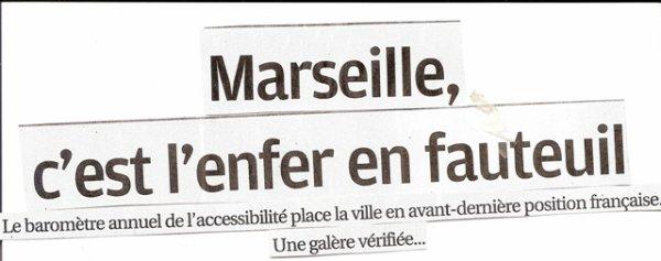 Accessibilités à Marseille...