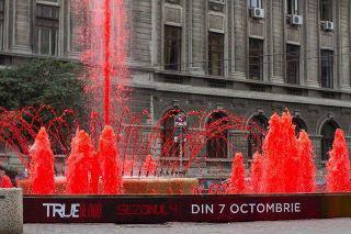 (l)(l)(l) True Blood : une fontaine de sang en Roumanie (l)(l)(l)