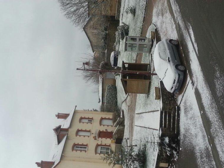 Et oui la neige