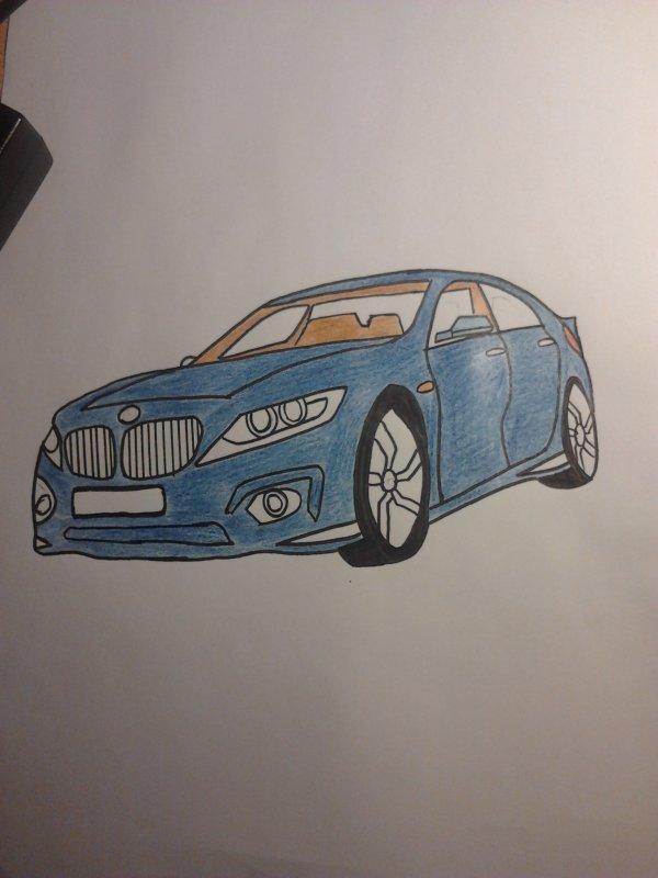 Une petite BMW