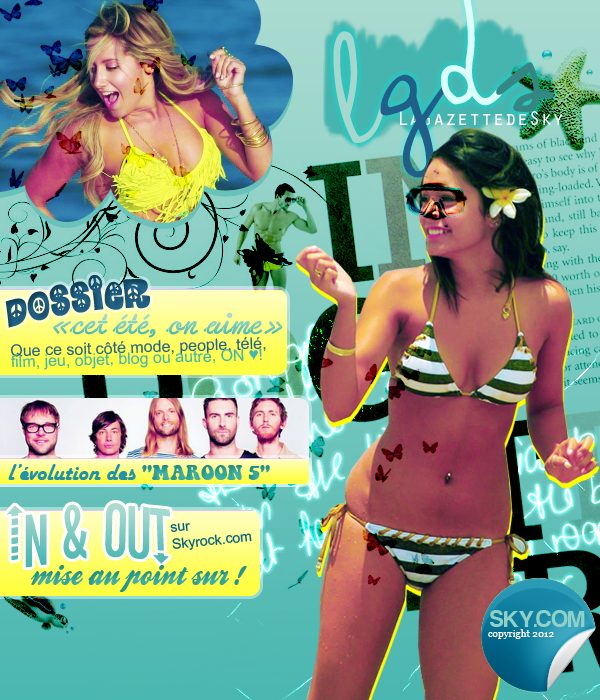 LaGazettedeSky (new version!) - n°7, cover.
