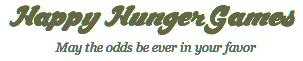 Bienvenue sur HungerGamesSaga