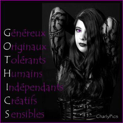 -------------------------Les gothiques-------------------------