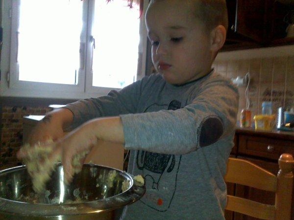 Mon neveu en cuisine
