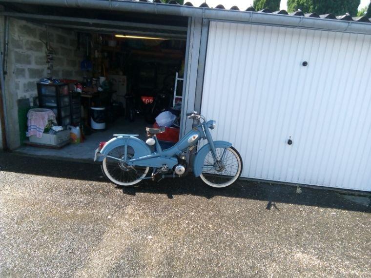 Une autre partie du garage