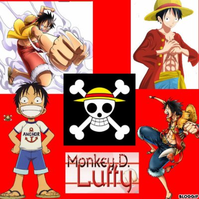 mes montage: luffy