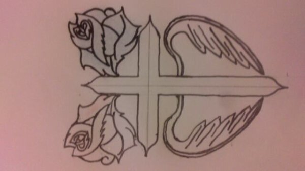 Tattoo pour mon frere dessiner by Me