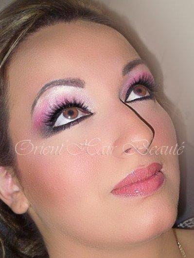 maquillage libanais rose. Black Bedroom Furniture Sets. Home Design Ideas