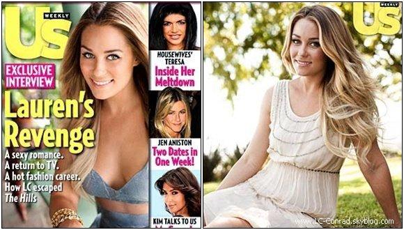 . Pour le mois d'Octobre, Lauren fait la couverture de 3 Magasine réputé ! .