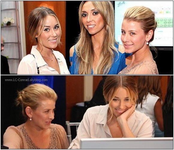 Ce 13 Octobre Lauren et sa meilleure amie Lo ont été vu ensemble au Design and Shine Event à Los Angeles, cela faisait bien longtemps qu'on avait pas vu les deux BFF ensemble .
