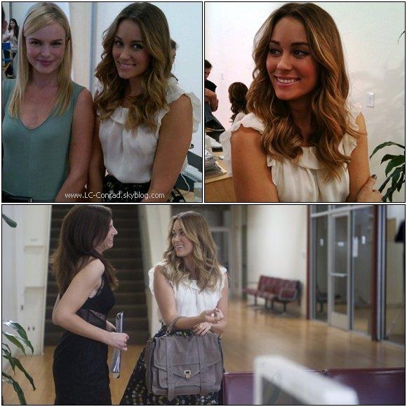. Lauren a été vu avec l'une de ses BFF et colocataire Maura qui travaille aussi avec Lauren sur leur nouvelle ligne de vêtement ,entrain de tournée une scène pour leur show ce 3 Novembre dans Los Angeles.