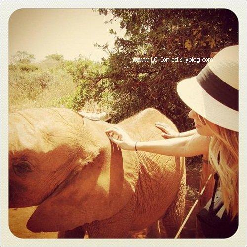 Lauren en Tanzani avec ses amis !