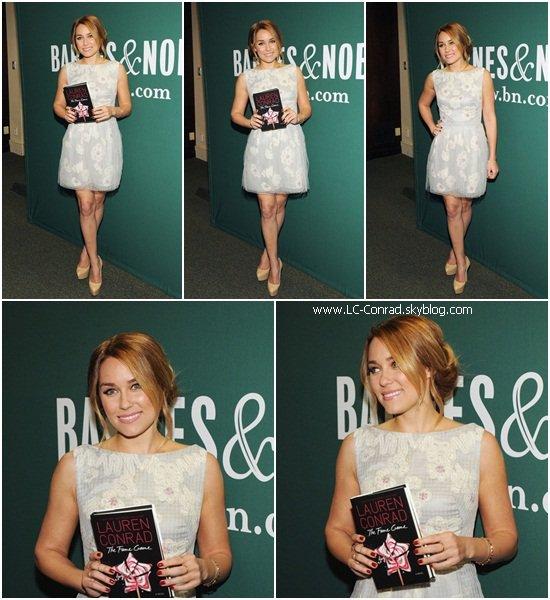 Le Book Touur est lancer ! Lauren à NEW YORK !!!!