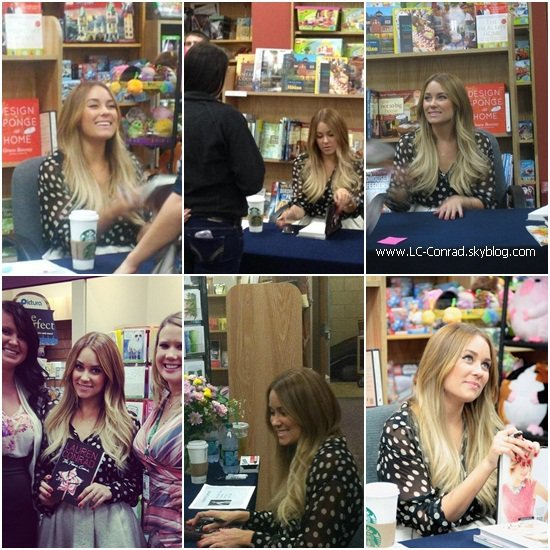 Suite du BOOK TOUR de Lauren !!!