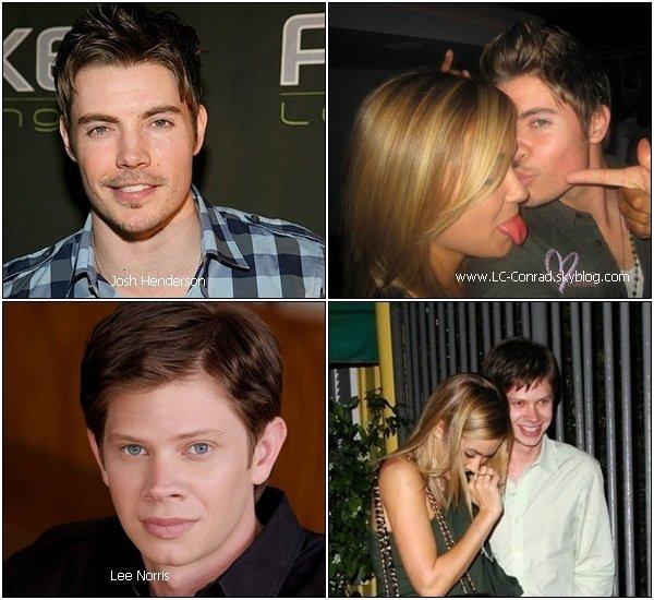 Les relations amoureuses de Lauren au fil des années...