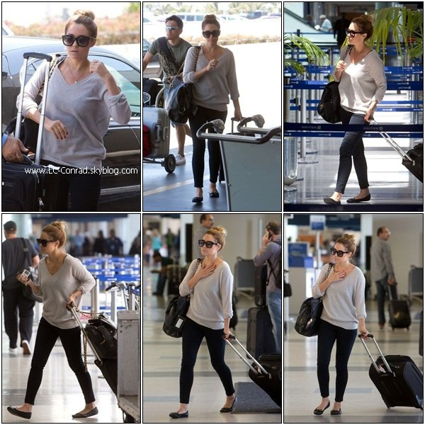 LAUREN CONRAD : nightclub + LAX aeroport + nouvel episode crafty créations