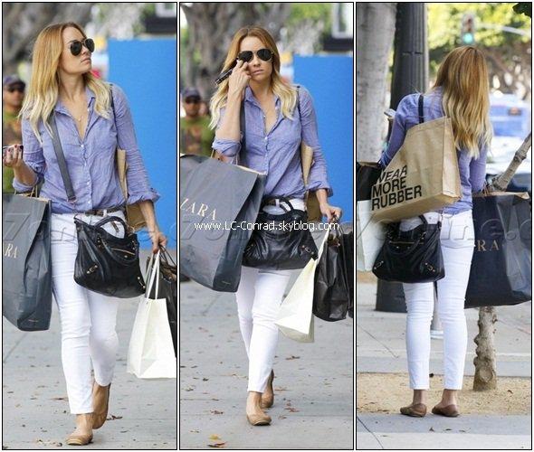 Lauren faisant du shopping à Santa Monica + nouvel épisode de Crafty Creations