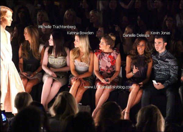 Dernier article sur la fashion week de New York, dernier défilé de Lauren Conrad