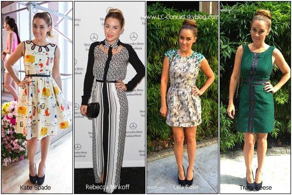 SONDAGE : Quelles tenues de Lauren a-tu préféré lors de cette Fashion Week ?