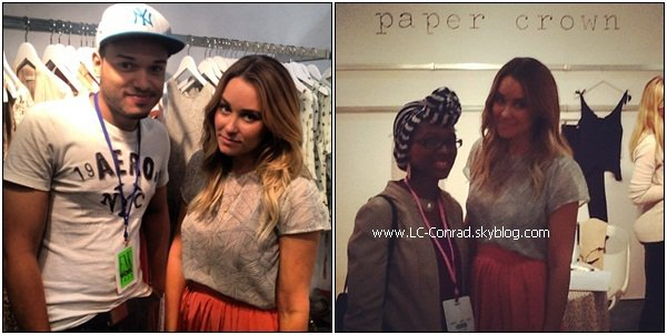 Lauren présente sa collection PAPER CROWN a NYC + épisodes CCreations