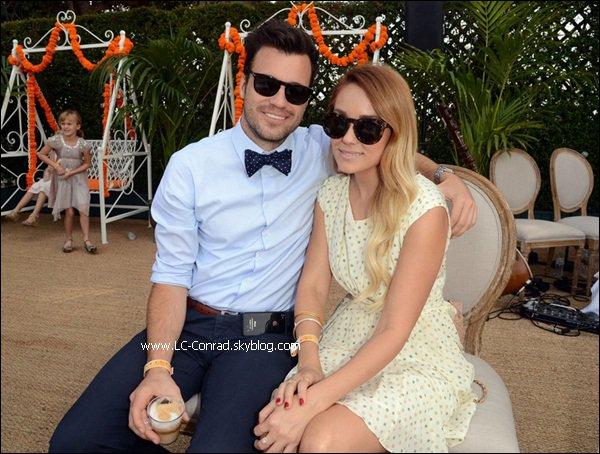 Lauren avec son boyfriend au Veuve Clicquot!!!