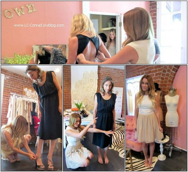 Lauren :Crafty creation + sneak peek photoshoot et gala annuelle