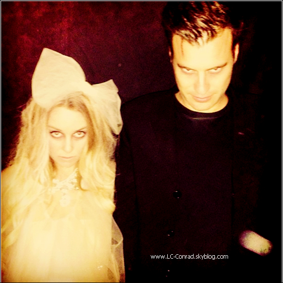 Lauren & William pour Halloween + Lauren à L.A
