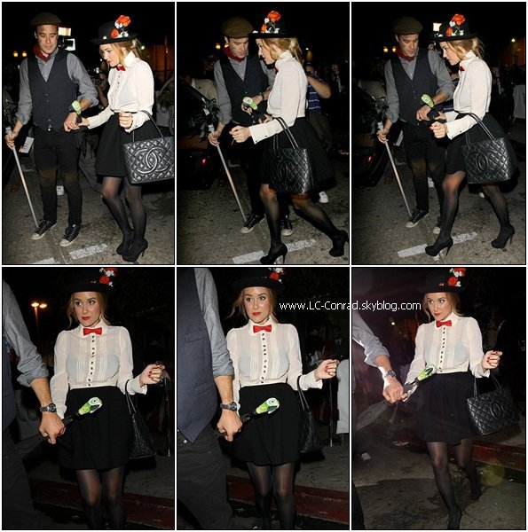 Lauren et William pour Halloween Party chez Matthew Morrison + Tout les costumes de Lauren