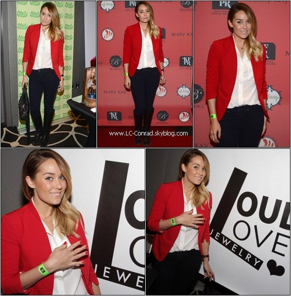Lauren soirée pré Golden Globes + Shopping