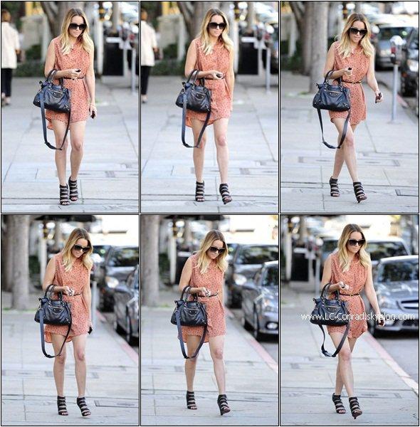 Lauren était ce 17 Janvier au salon Kate Somerville à West Hollywood.