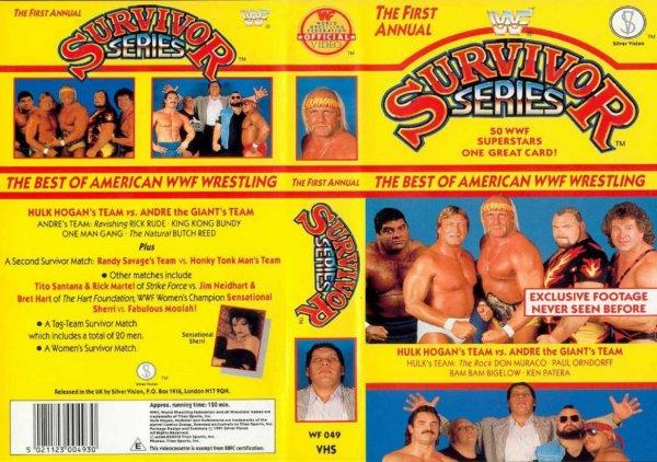 WWE Survivor Series 1987 Résultats